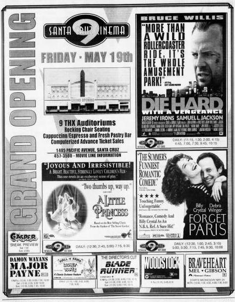 Regal Santa Cruz 9 In Santa Cruz Ca Cinema Treasures