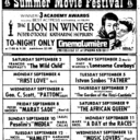 "AD FOR ""SUMMER MOVIE FESTIVAL"" - CINEMLUMIERE"