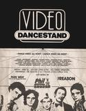 Early `80's Video Dancestand flyer, designed by and courtesy of Video Dancestand host and long time Chicago graphic artist Shelley Howard.