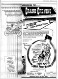 November 22nd, 1950 grand reopening ad