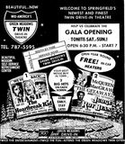 March 8th, 1974 grand opening ad
