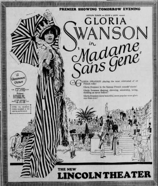 May 18th, 1925 grand opening ad