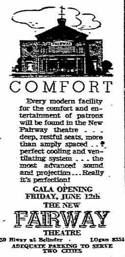 June 8th, 1942 grand opening ad