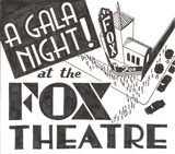 Advertising Art for Fox Event, 1984