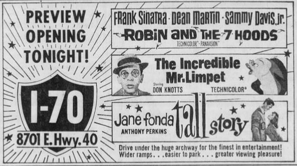 July 22nd, 1964 grand opening ad