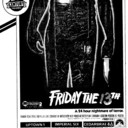 "AD FOR ""FRIDAY THE 13TH"" - REGENT (OSHAWA) AND OTHER THEATRES"