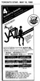 "AD FOR ""ALL THAT JAZZ"" - UPTOWN AND OTHER THEATRES"