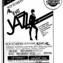 "AD FOR ""ALL THAT JAZZ"" - NORTH YORK SHERIDAN AND OTHER THEATRES"
