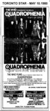 "AD FOR ""QUADROPHENIA"" - KINGSWAY AND OTHER THEATRES"