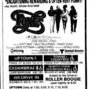 """AD FOR """"FOXES"""" - TOWNE & COUNTRYE AND OTHER THEATRES"""