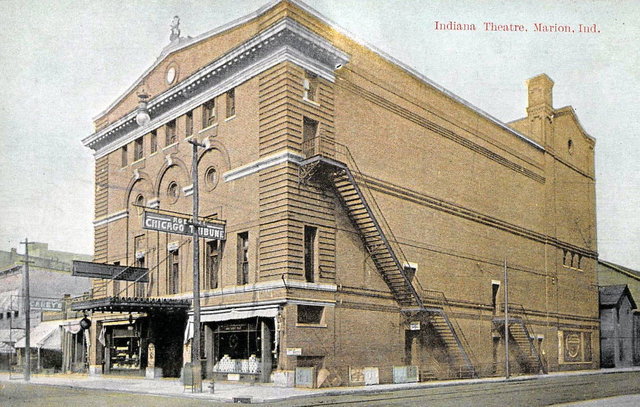 INDIANA Theatre; Marion, Indiana.