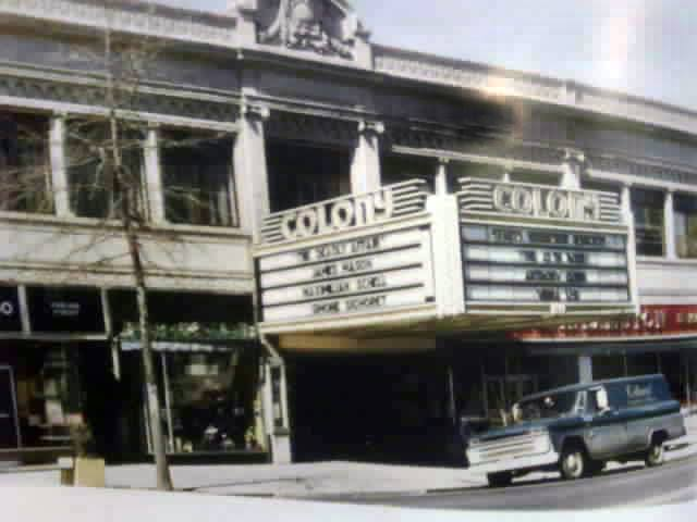 Colony Theater White Plains N.Y.