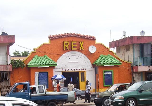 Accra, Ghana: Cinema Rex