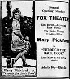 March 19th, 1922 grand opening ad