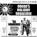 "AD FOR ""THE HAWAIIANS"" - ODEON CARLTON THEATRE"