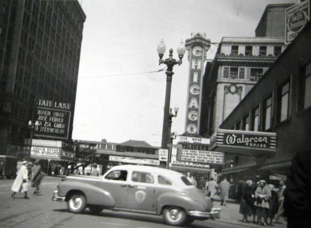 1952 photo courtesy of Frank Pajak.