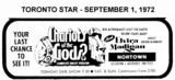 "AD FOR ""CHARIOTS OF THE GODS & ELVIRA MADIGAN"" - NORTOWN THEATRET"