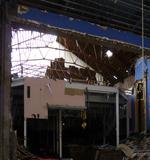 Demolition of auditorium. Spring 2014