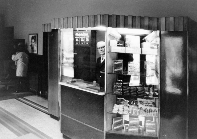 Ticket/Confectionery kiosk