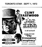 "AD FOR ""JOE KIDD & GROUNDSTAR CONSPIRACY"" - DANFORTH & HUMBER THEATRES"