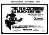 "AD FOR ""THE NEW CENTURIONS"" - ODEON CARLTON THEATRE"