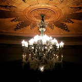 Chandelier in the Auditorium