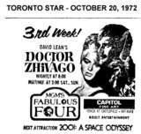 "AD FOR ""DOCTOR ZHIVAGO"" - CAPITOL THEATRE"