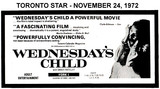 "AD FOR ""WEDNESDAY'S CHILD"" - YORK 1 THEATRE"