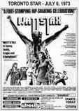 """AD FOR """"WATTSTAX"""" - CINECITY AND OTHER THEATRES"""