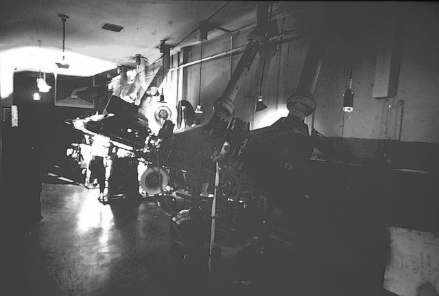Loew's Triboro projection room early 1970's