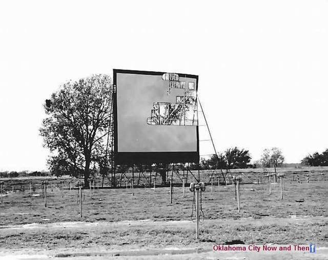 Lake Air Drive-In Theater Screen