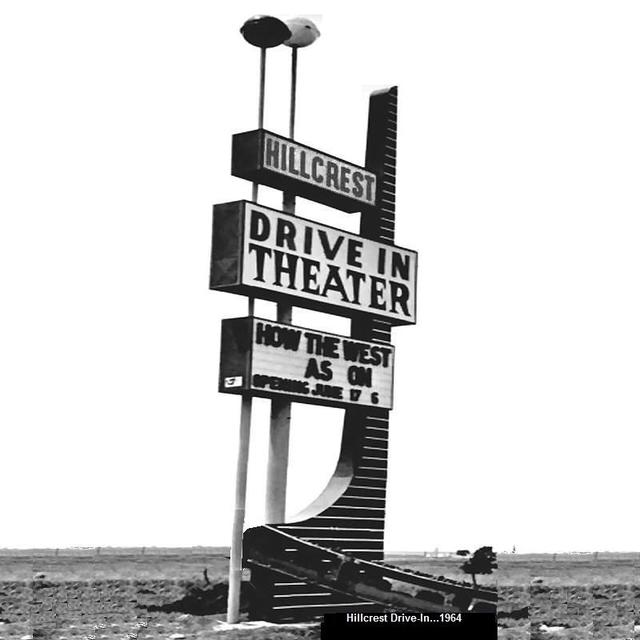 Hillcrest  Drive-In Theater...1964
