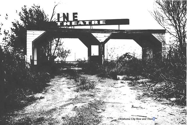 Circle Drive-In Theater Box Office-Later became Cinema-C Drive-In.