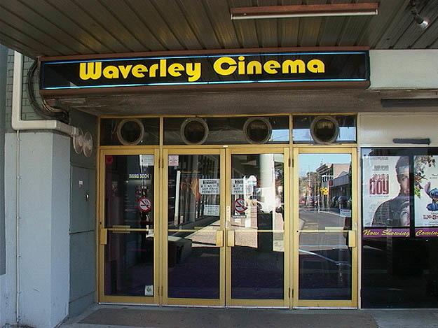 Waverley Cinema - Front Entrance