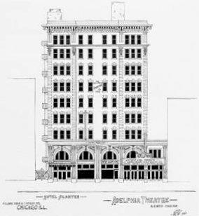 CLARK (ADELPHIA, COLUMBIA) Theatre; Chicago, Illinois.