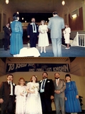 We were married at the theatre then Living Word Fellowship in 1987