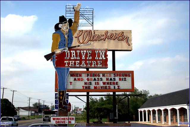 Drive in movie in oklahoma