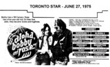 "AD FOR ""ALOHA BOBBY AND ROSE"" - MOUNT PLEASANT & OTHER THEATRES"
