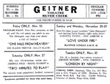 Geitner Theatre