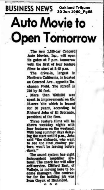 Oakland Tribune - Concord Auto Movies