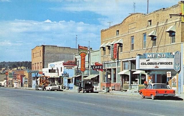 Crisper version of the 1961 photo, courtesy of The Denver Eye Facebook page.