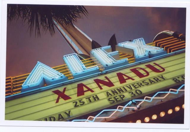 Alex Theatre Marquee 2005 