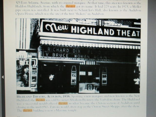 New Highland Theatre