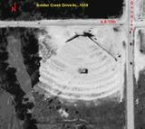 Soldier Creek Drive-In Aerial...1959