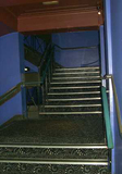 """[""""Stairs to the circle from the foyer""""]"""