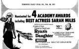 "AD FOR ""RYAN'S DAUGHTER"" - UNIVERSITY THEATRE"