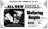 "AD FOR ""WUTHERING HEIGHTS"" - EGLINTON THEATRE"