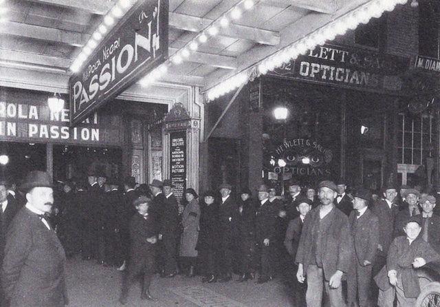 Garden Theatre In Paterson Nj Cinema Treasures