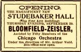 Opening Day Chicago Tribune ad.