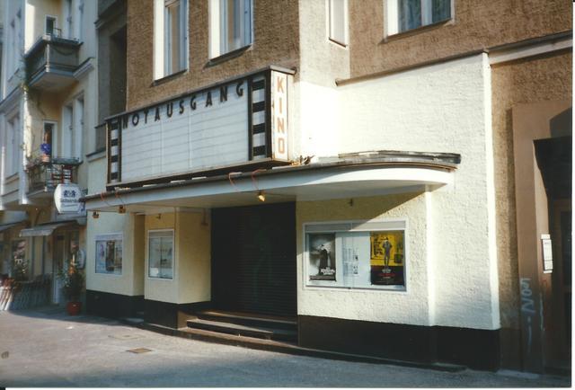 Notausgang Kino